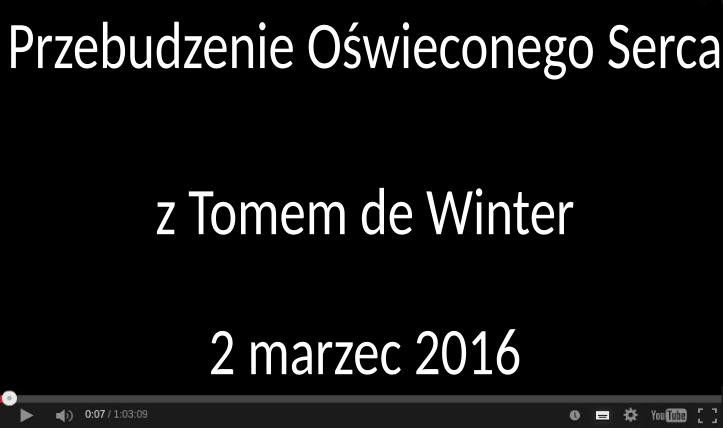 Wykład Tom de Winter